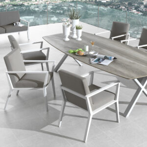 angel cushioned outdoor dining chairs