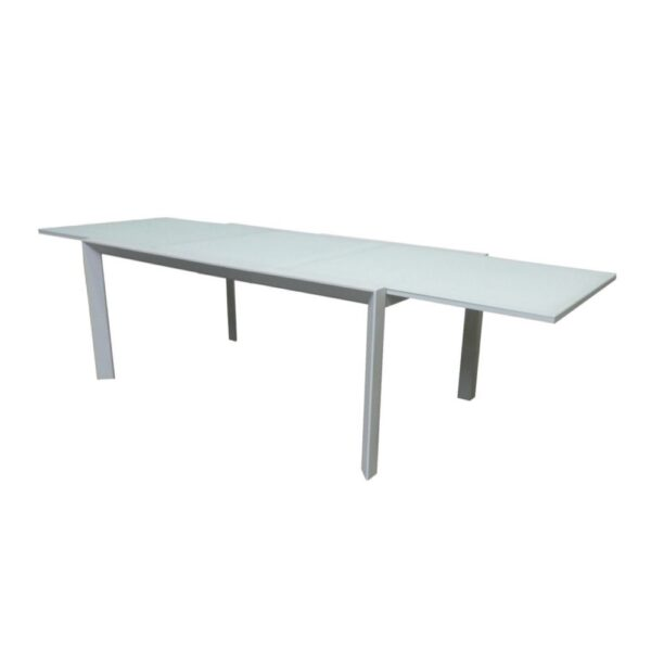aluminum outdoor extension table