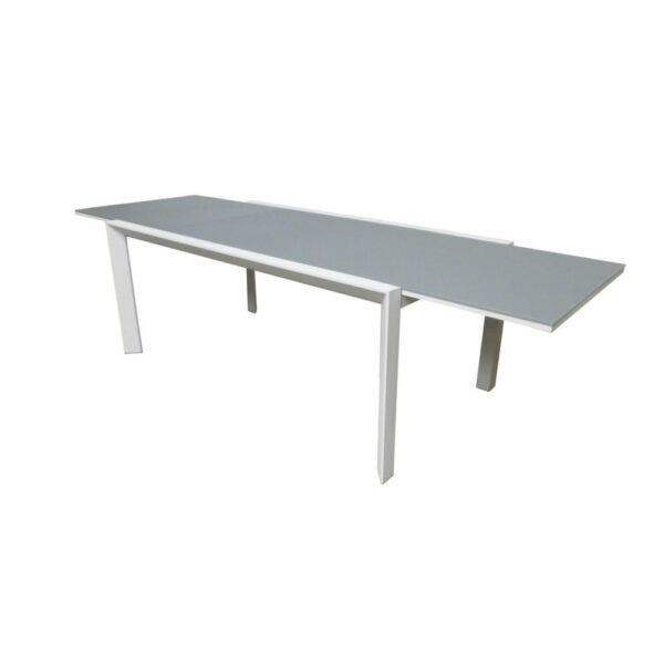 carlo extension table gray
