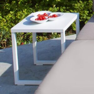 white end table minimalist