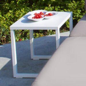white end table minimalist