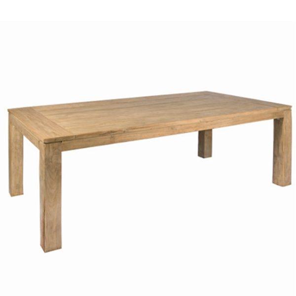 teak dining table