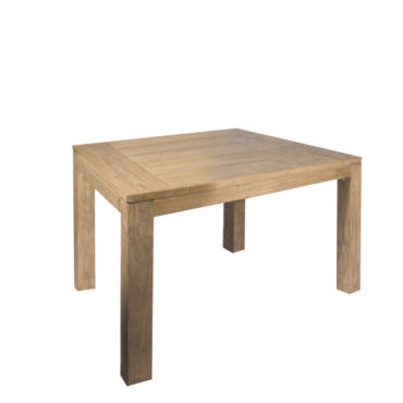 square teak outdoor dining table