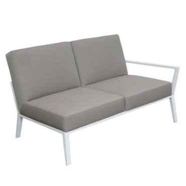 angel gray right outdoor sofa