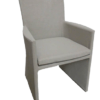 upholstered dining chair with arms