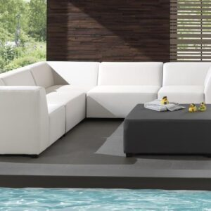 white silvertex sofa set indoor outdoor