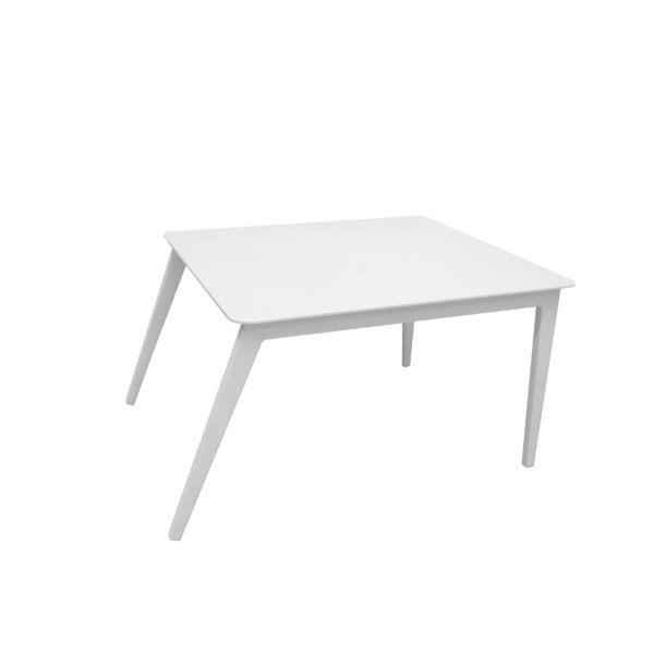 angel white outdoor side table