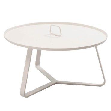 aluminum round coffee table handle