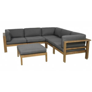 arizona teak outdoor sofa