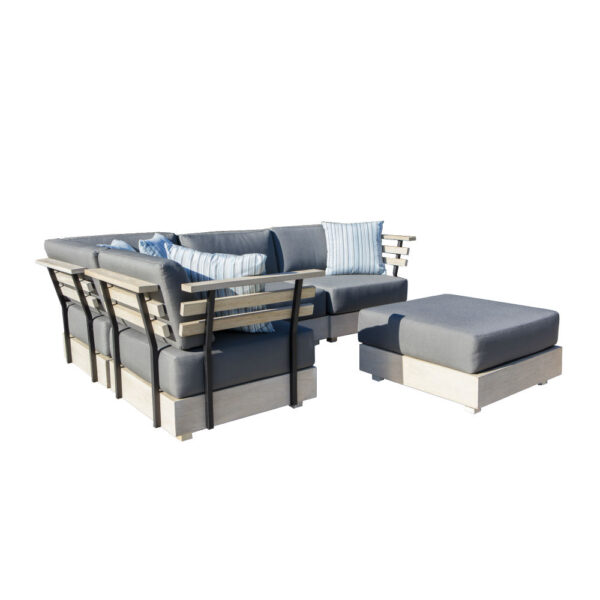 barbados teak outdoor sofa set