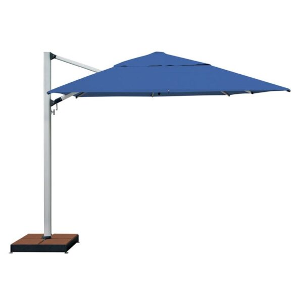 blue commercial beach umbrella
