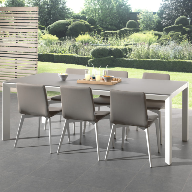 gina armless outdoor dining chair
