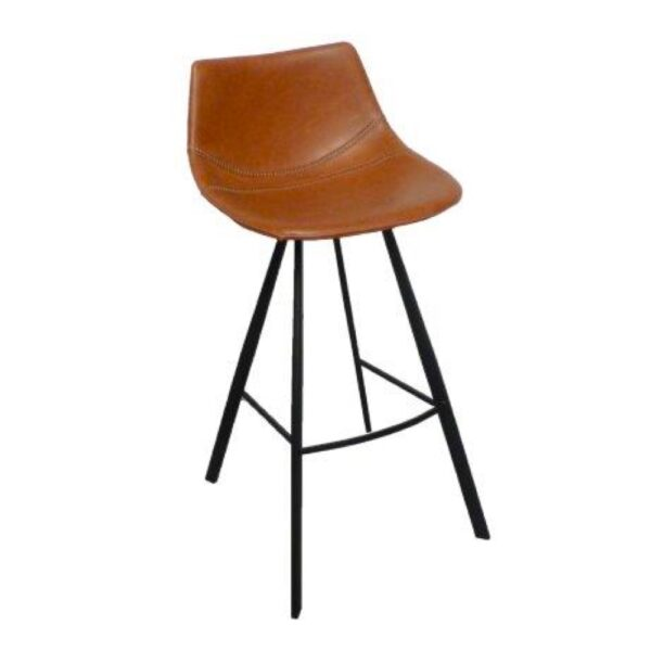 ginger faux leather counter chair