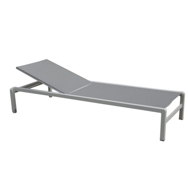 pia gray white lounge chair