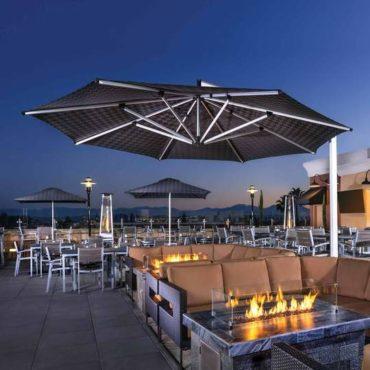 shademaker orion huge restaurant umbrella