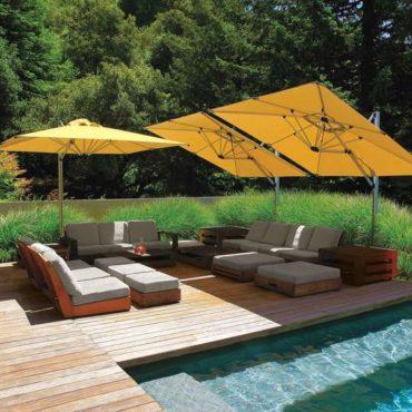 sirius pool sofa cabana umbrella
