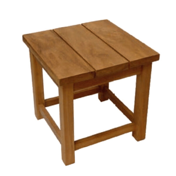 kay small teak side table