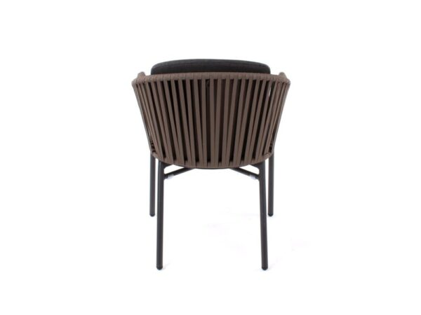 contemporary outdoor dining chair