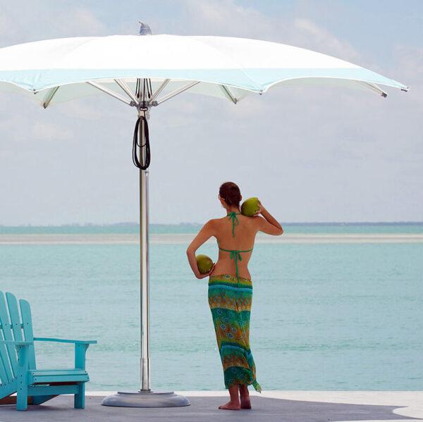 large outdoor umbrella