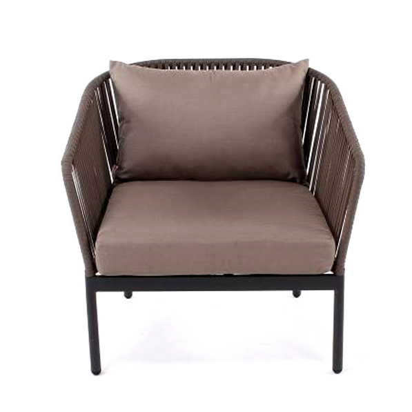 clavo wrapped frame armchair
