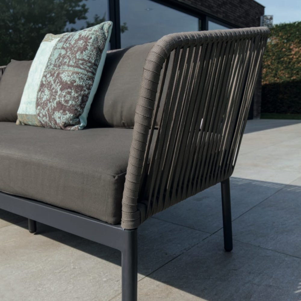 Rope Frame Sofa Set Clavo Luxury Outdoor Home Couture