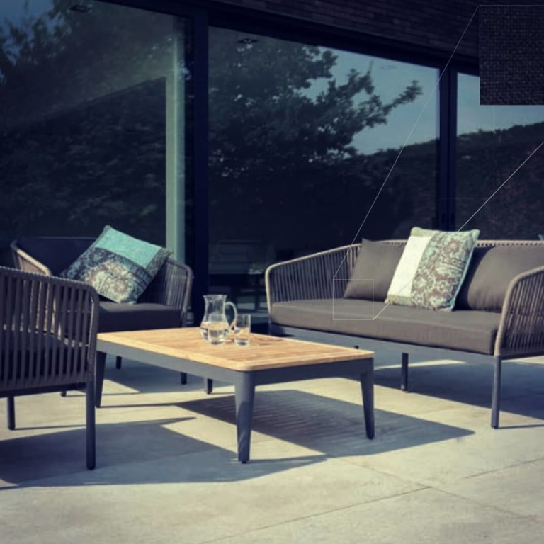 clavo outdoor sofa square