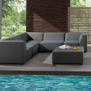 christina anthracite outdoor sofa