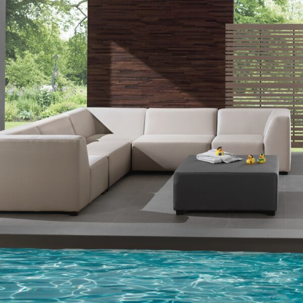 christina ivory outdoor sofa