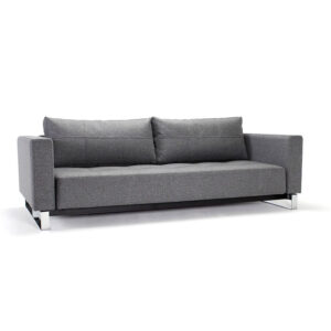 king size sofa bed gray arms