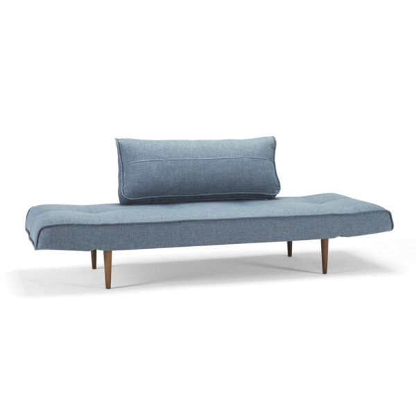 light blue upholstered daybed