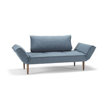 light blue upholstered daybed