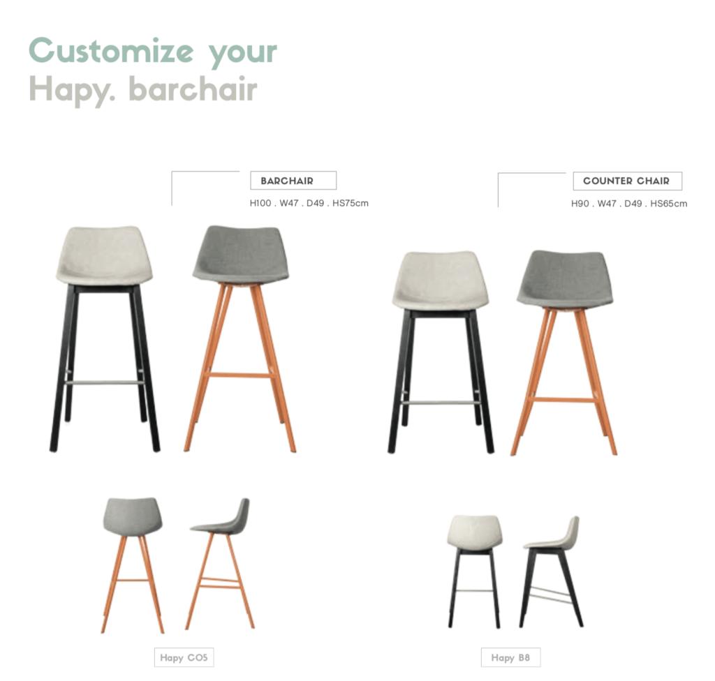 customizable barchair