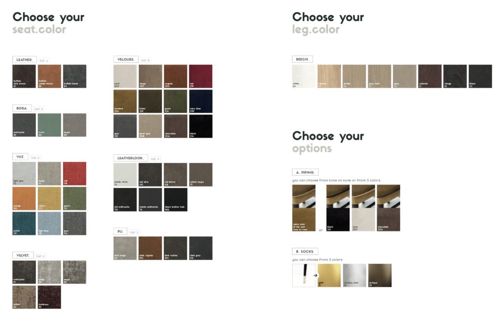 Uniq Color Options