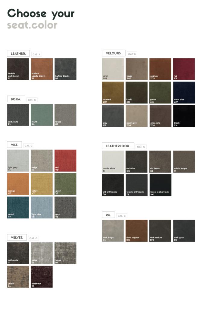 uniq fabric colors