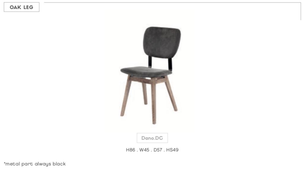 customizable dano chair