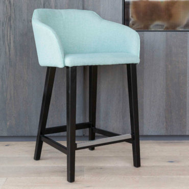 amor mint black counter-chair