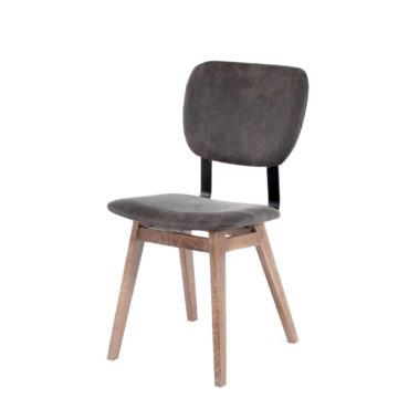 dano customizable wood metal chair