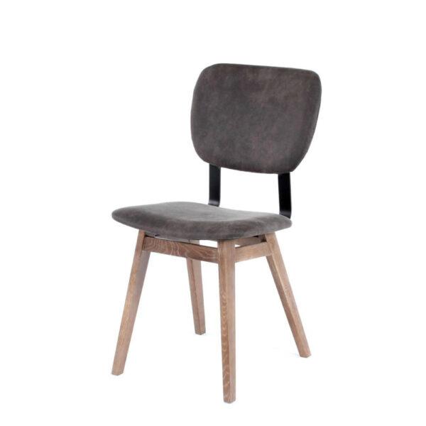 dano customizable wood metal chair