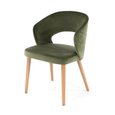 fay cutout back dining chair