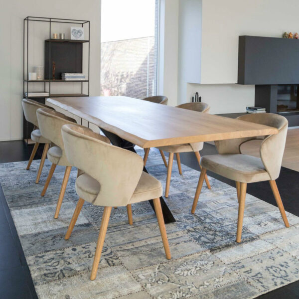 fay cutout back dining chairs