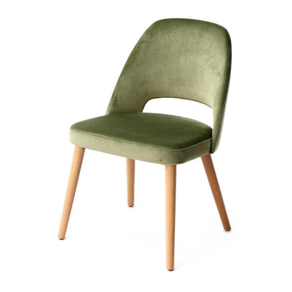 joy armless cutout back dining chair