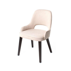 lou cutout back chair