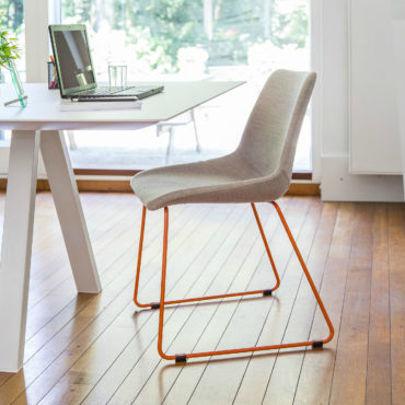 lovy bright colorful dining chair