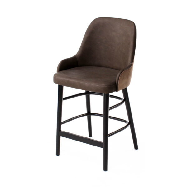 may low arm counter chair