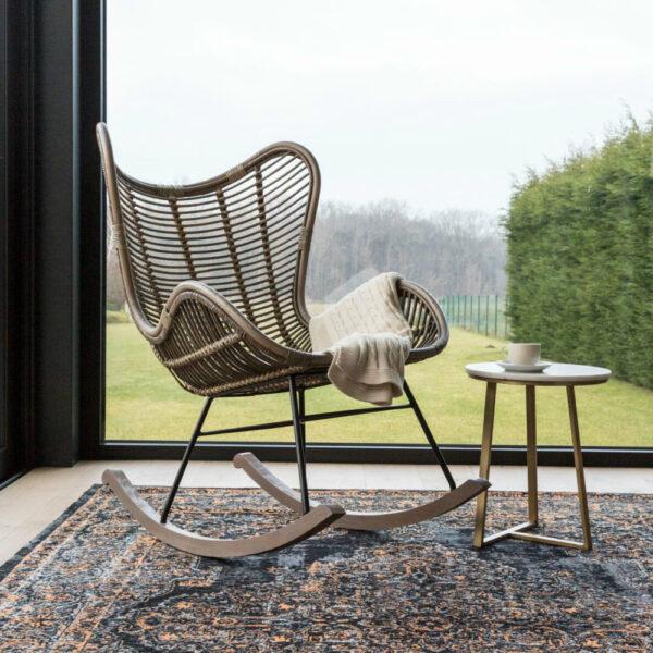 modern rocking chair bergamo