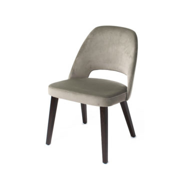 ray cutout back dining chair