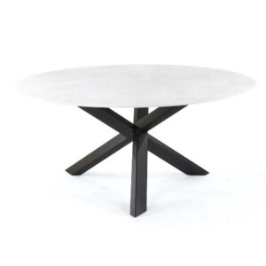 round ceramic dining table
