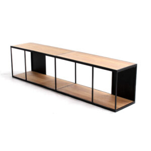 rubic long wall shelf