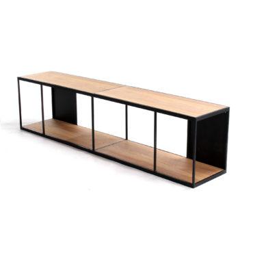 rubic long wall shelf
