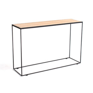 rubic metal wood console